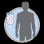 Введение полученного биоматериала в кровь пациента